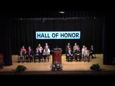 2017 Hall of Honor Ceremony