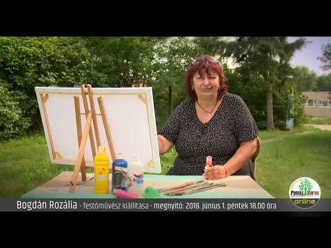 Meghívó - Bogdán Rozália festőművész kiállítására - PMHK
