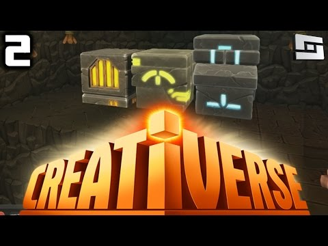 Creativerse Gameplay - SEARCHING FOR COAL! ( Let's Play E2 )