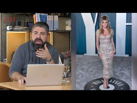 Maurice Munteanu comentează ținutele purtate de vedete la OSCAR și petrecerea Vanity Fair