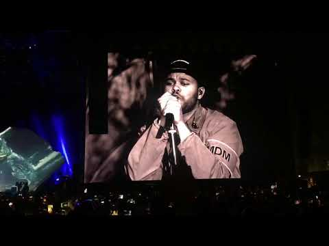 Pray For Me  Starboy  The Weeknd Coachella 2018