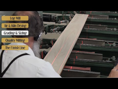 How Hardwood Floors Are Made In The USA