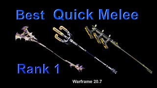Warframe: Best Quick Melee Weapons for High-Level Content (Con…