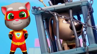 Tom Rescues Angela - Talking Tom Hero Dash