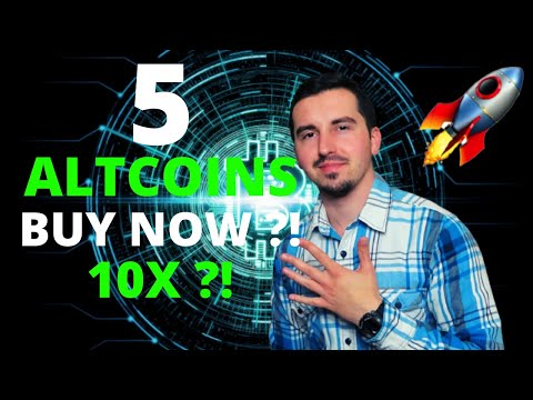 TOP 5 ALTCOINS I'M BUYING NOW 🚀 | CRYPTO April 2021🤑 | Dogecoin WARNING !!🚀|