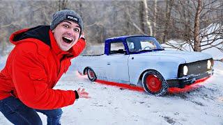 Мы нашли потерянный автомобиль в лесу и купили его за 500 рублей