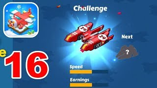 Merge Plane Click & Idle Tycoon Gameplay Unlocking Plane No 29 Challenge Plane