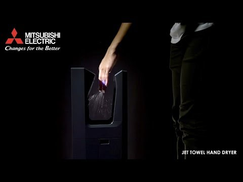 Mitsubishi Jet Towel Hand Dryer