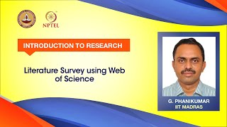 Literature Survey using Web of Science