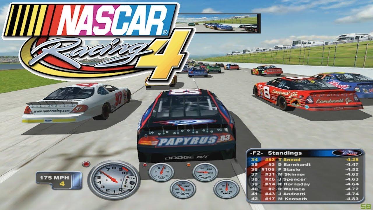 Nascar Racing Games >> Nascar Racing 4 Who Remembers This Game Ep2 Youtube