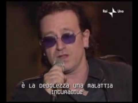 BONO VOX (U2) E PAVAROTTI CANTAM AVE-MARIA