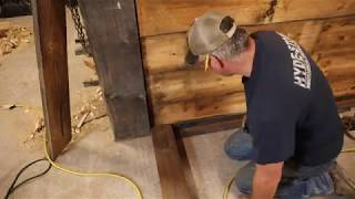 Old Men and Dirty Jokes, Working On Walls In The Timber Frame...What a Night