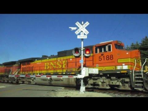 BNSF 5188 East Fast Z Train (11-16-2016)