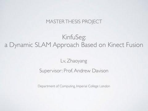 KinfuSeg: a Dynamic SLAM Approach Based on Kinect Fusion