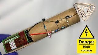Самодельный бесконтактный детектор напряжения