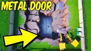 Fortnite map changes. Loot Lake digging site - Metal door,Ruin skin
