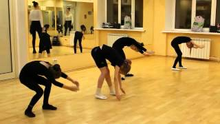 Открытый урок 16.12.2015 (ф.Восточный, гр.6-8 Современная хореография)