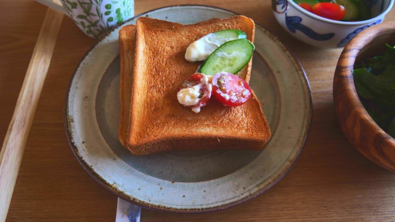 トマトと胡瓜のトースト Toast
