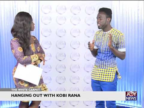 Kobi Rana breaks silence on Gay rumours  The White carpet 9416