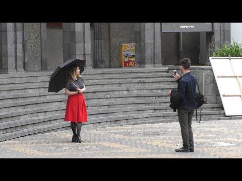 Yerevan, 13.05.18, Su, Video-1, (на рус.) К площади Азнавура.