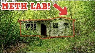 Abandoned Drug Dealers Meth Lab!