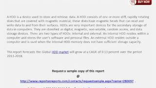 Analysis for HDD (Hard Disk Drive) Market 2018