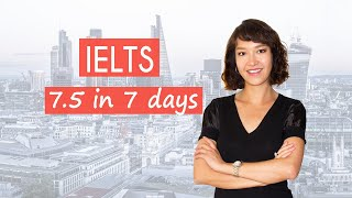 IELTS preparation | Improve your score in 1 week | How to prepare for the IELTS exam quickly