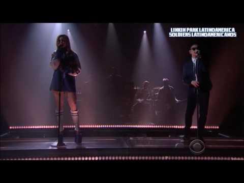 """Linkin Park ft Kiiara   """"Heavy"""" (The Late Late Show ) Subtitulos en español"""