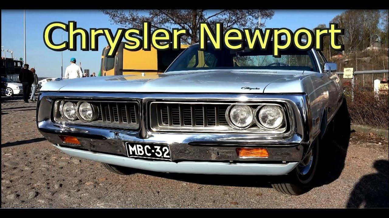 chrysler newport royal -monster v8 engine car-muscle car