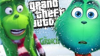 THE NEW GRINCH HAD A SON MOD (GTA 5 PC Mods Gameplay)