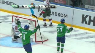 Linus Omark gorgeous assist on Igor Grigorenko