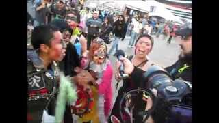 Bufones del Faro de Oriente Intervención en Vive Latino 2014