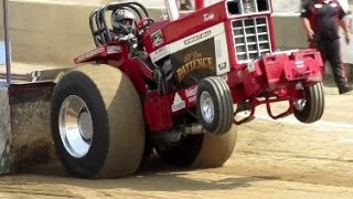 2015 Super Stock Tractor Pulls in Greenwich NY Washington County Fair