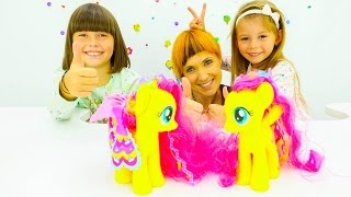 Игры для детей. Маша Капуки Кануки и игрушки в парикмахерской