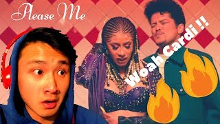 Cardi B & Bruno Mars - Please Me (Official Video) [REACTIONREVIEW]