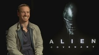 Michael Fassbender 'laughed a lot' at Alien: Covenant