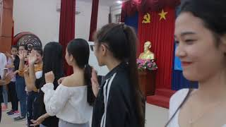 Tập Trình diễn sân khấu | Tập luyện Duyên dáng nữ sinh | 2017.10.13.(02)