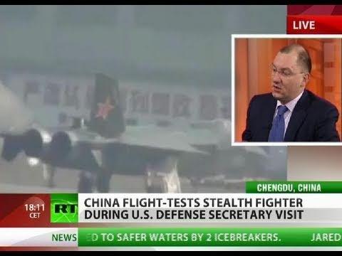 Stealth Race: China test flies Chengdu J-20 'Black Eagle'