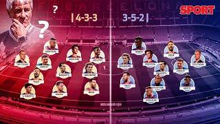 El PRIMER ONCE de la era QUIQUE SETIÉN: Griezmann, Arturo Vidal, Riqui Puig... ¿A quién elegirá? 🤔