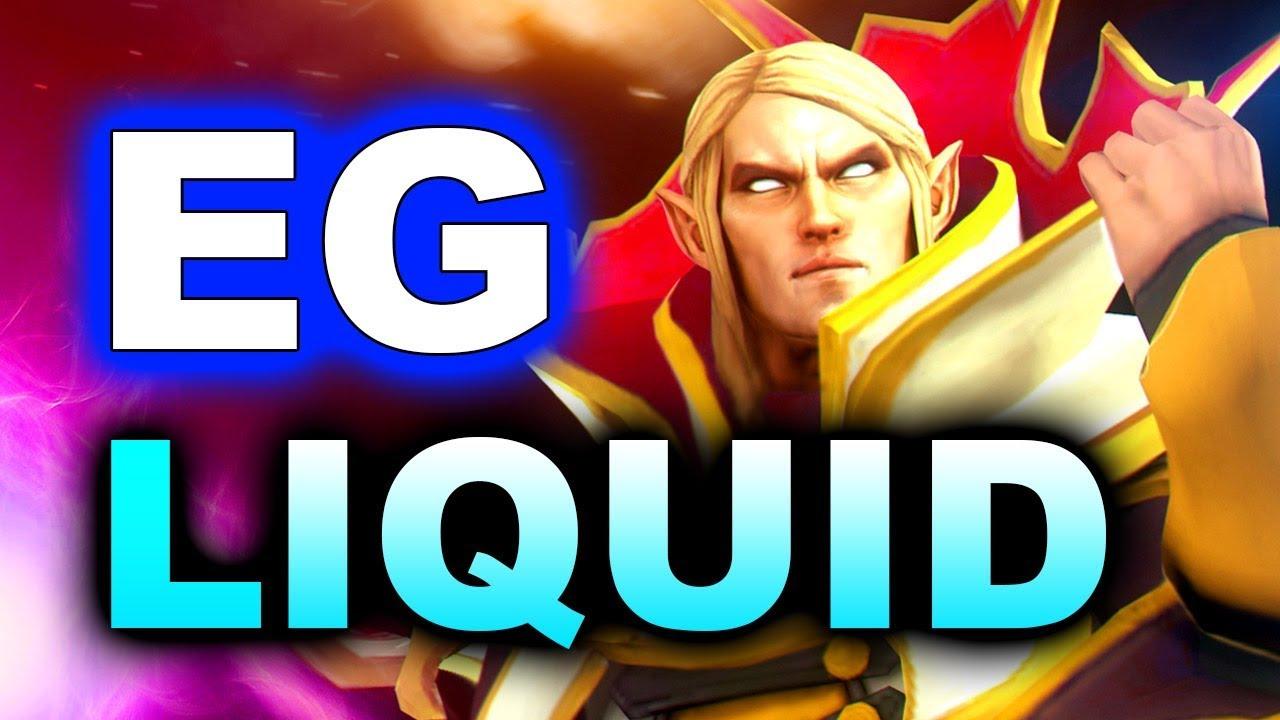 Ti8 devam ederken Liquid ve EG arasında oynanan heyecanlı karşılaşma! Videosu