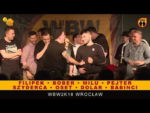 JAM 🎤 WBW 2018 🎤 Poznań   Szyderca, Oset, Filipek, Bober, Milu, Dolar, Pejter