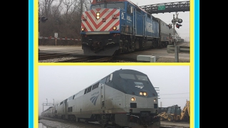 Rondout Railfanning: Metra and Amtrak Edition