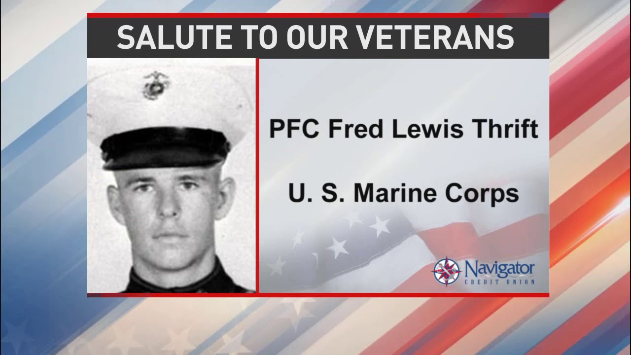 Salute to our veterans: Private First Class Fred Lewis Thrift - NBC 15 WPMI