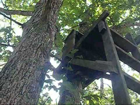 Ghostkamo Home Made Deer Stand Design Youtube