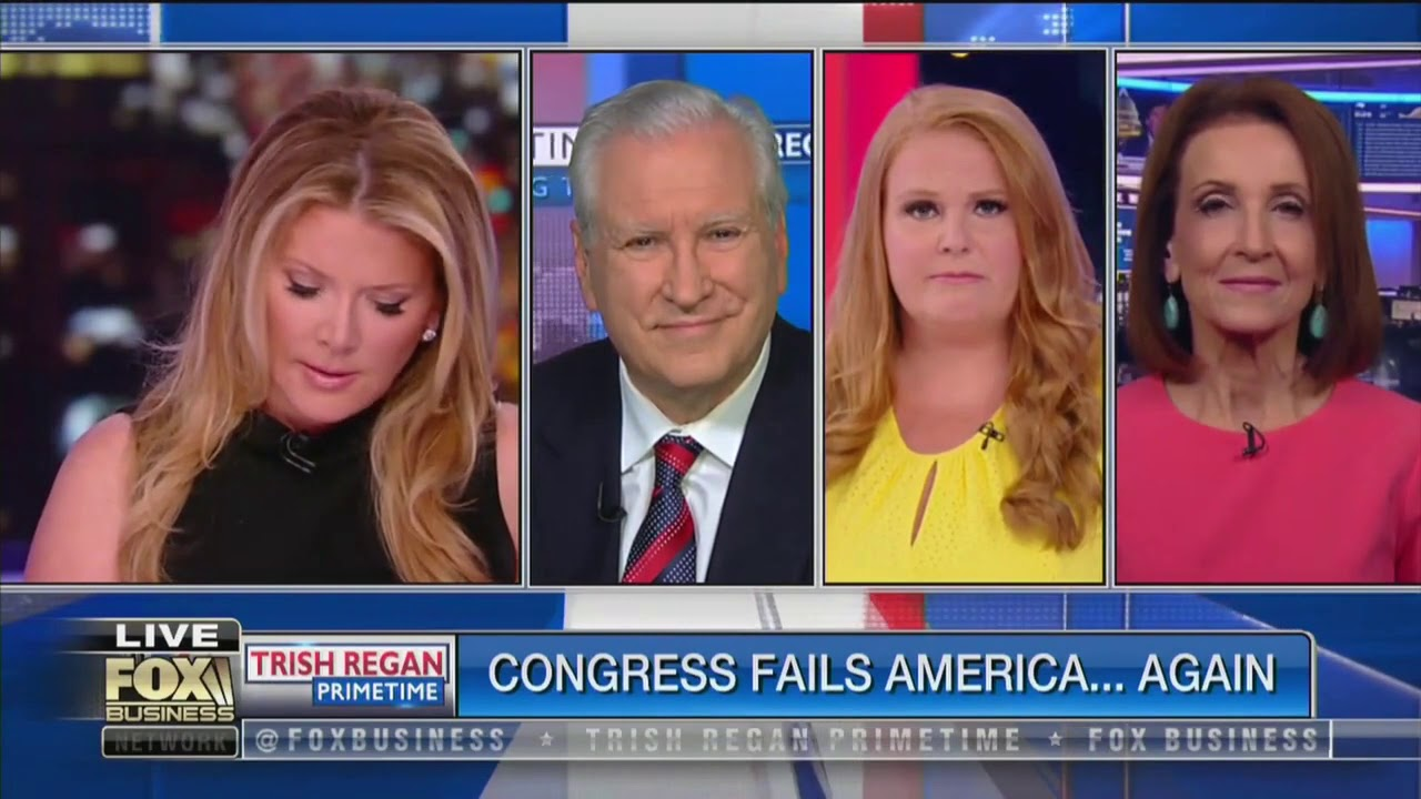Fox Business host goes after 'inept Congress' for failing on