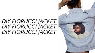 Diy fiorucci inspired denim jacket ✂️✨