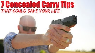 7 Concealed Carry Tips That Could Save Your Life