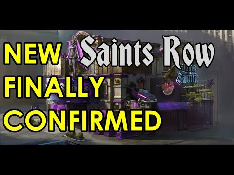 NEW Saints Row FINALLY CONFIRMED! (THQ is Back!)