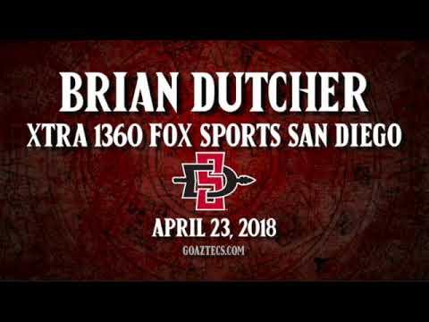 SDSU MEN'S HOOPS: BRIAN DUTCHER - XTRA 1360 FOX SPORTS SAN DIEGO - 4/23/18
