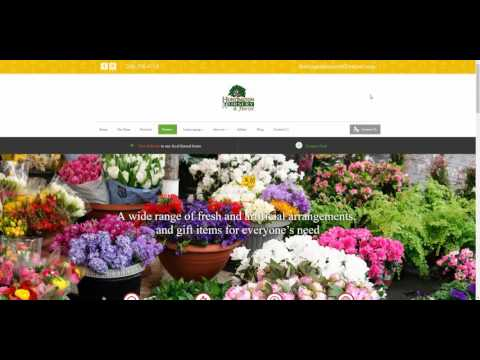 Web Design Huntington - WordPress - Website - Huntington Nursery & Florist